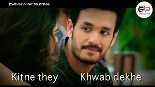 Kitne They Khwaab  Dekhe  // New Song Status // GP Selection