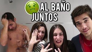 24 HORAS ESPOSADOS | VAMOS AL BAÑO JUNTOS | Lyna Vlogs ft. ...