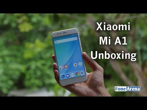 Xiaomi Mi A1 Unboxing - Android One Smartphone