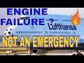Lufthansa 747 ENGINE FAILURE 💥 , but NOT an EMERGENCY 😂😂🛩🔝