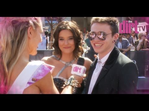 Reece Mastin... A Nervous Wreck - The Dirt TV
