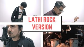 Lathi Rock - Weird Genius Ft Sara Fajira - Cover By Jeje Guitaraddict Ft Ollan