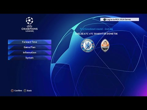PES 2020 PS3   Full Update UCL Scoreboard + Gameplay HD 60fps