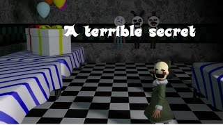 (Five Nights At Freddy's sfm animation) A terrible Secret