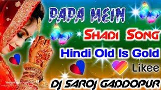 2+K💞Papa Main Chhoti Se Badi Ho Gayi Ky Shadi Hindi Song || Likee DjRemix Song || Dj Mix Old Is Gold