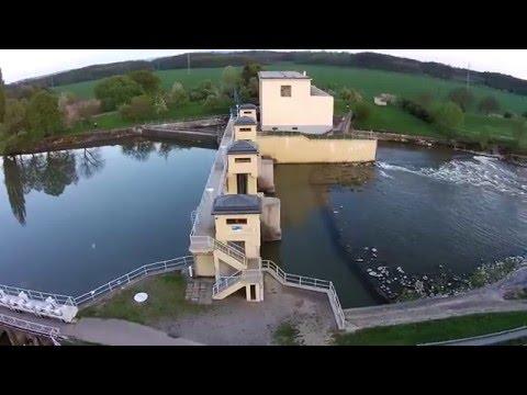 Řeka Morava Jez Hodonín