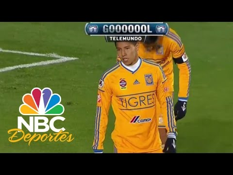 Gol de Hugo Ayala (ag) Pachuca 1-1 Tigres   Fútbol Estelar   NBC Deportes