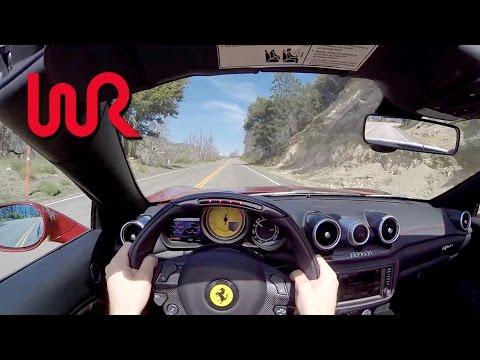 2016 Ferrari California T (Top Down) - WR TV POV Canyon Drive