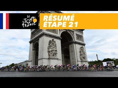 Résumé - Étape 21 - Tour de France 2018