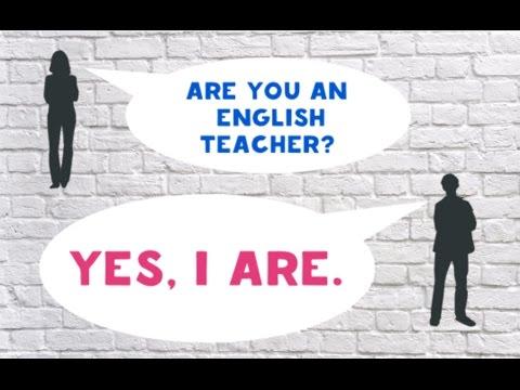 Как узнать, что ваш учитель английского - ИДИОТ!