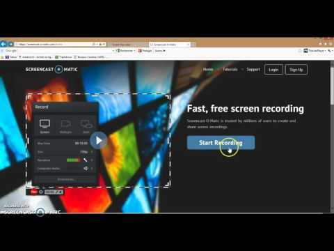 Tuto - LOGICIEL GRATUIT DE CAPTURE VIDEO PC TRES SIMPLE