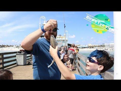 Fishing Off The Daytona Pier!