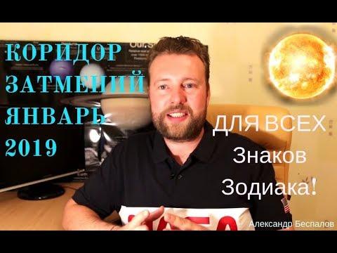 ЯНВАРСКИЕ ГОРОСКОПЫ  2019 для ВСЕХ Знаков Зодиака!