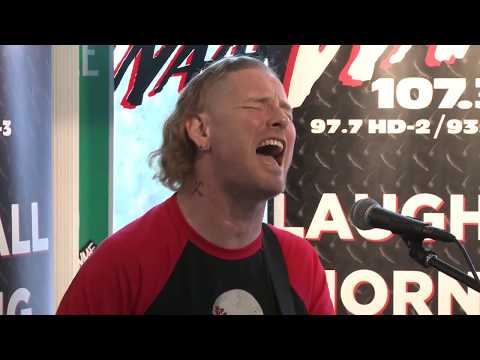 """Corey Taylor performs Tom Petty's """"You Got Lucky"""" Live at WAAF"""