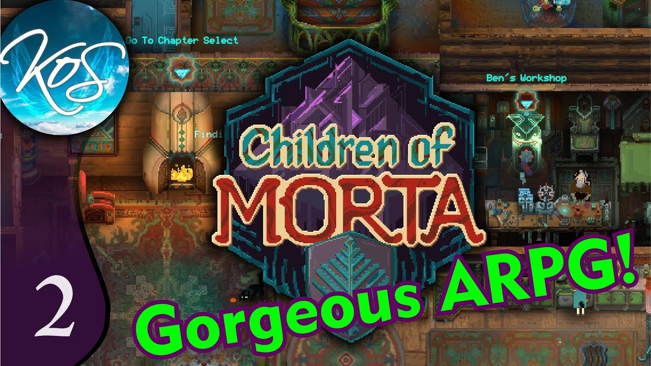 Children of Morta Ep 2: LINDA'S LIGHTNING ARROWS - ARPG Eye candy!!! First  Look - Let's Play