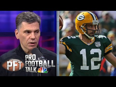 Aaron Rodgers' weapons dwindling in Green Bay | Pro Football Talk | NBC Sports