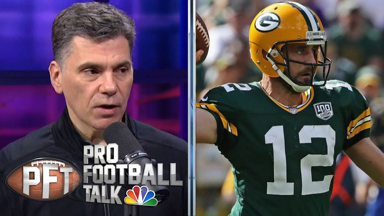 Aaron Rodgers' weapons dwindling in Green Bay | Pro Football Talk | NBC Sports
