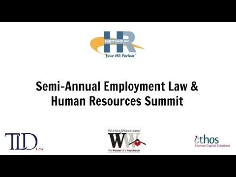 Employment Law & HR Seminar 2016