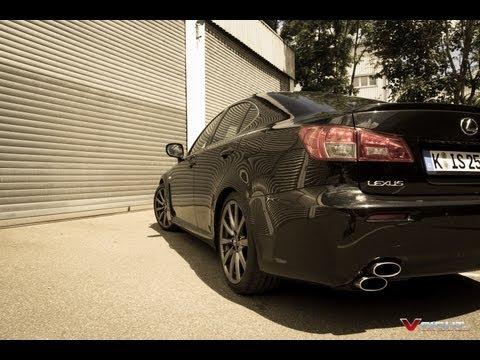 Lexus IS-F 5.0-Liter-V8 (stock) Engine Start / Exhaust Sound / Standing Start