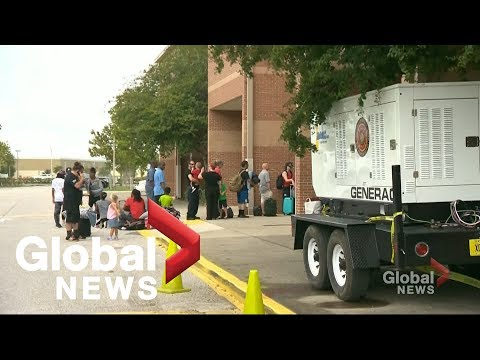 Evacuations begin ahead