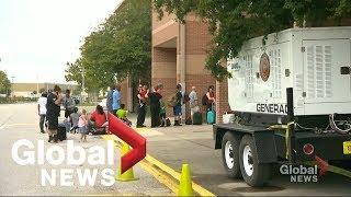 Evacuations begin ahead of Hurricane Dorian's Florida arrival