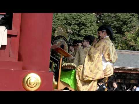 雅楽@鶴岡八幡宮 Gagaku - Japanese classical music
