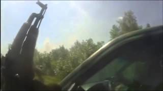 Ukraine War [COMBAT FOOTAGE] Right sector. Battle of Karlivka