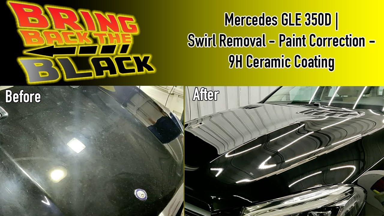 Swirl-ed up MERCEDES GLE 350D | Paint Correction & 9H Ceramic Coating | AUTOHIVE