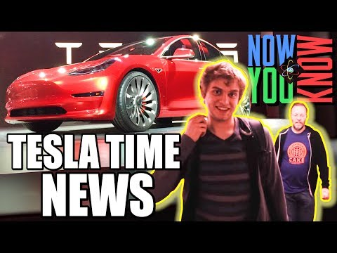 Tesla Time News - The Model 3 Release Event and more!