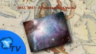 M42, M43. Туманность Ориона