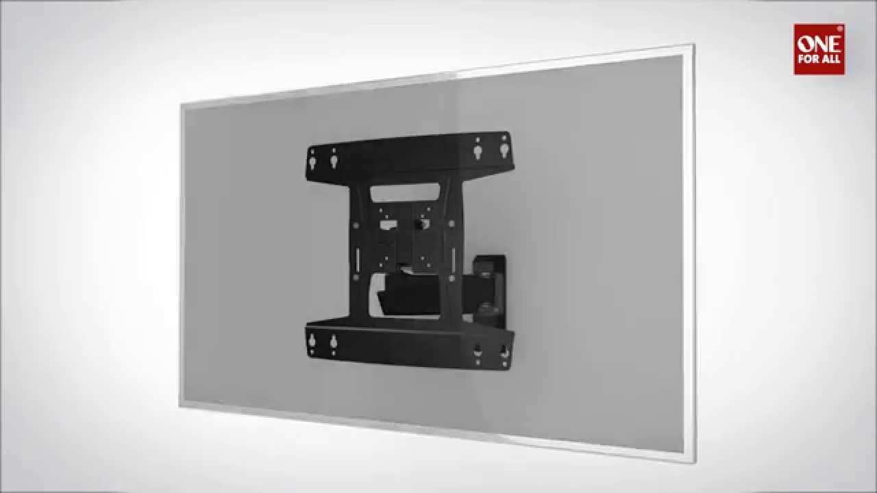One For All Wm4450 Wall Mount How To Install Instruction