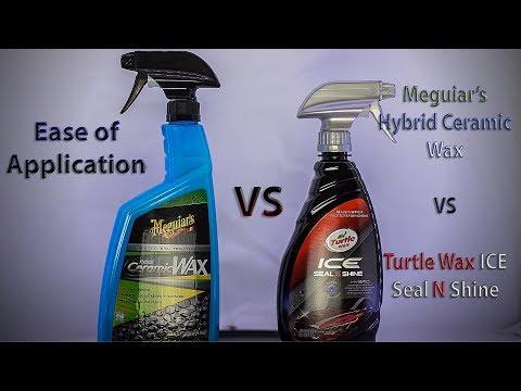 New Ceramic Sealants: Meguiar's VS Turtle Wax