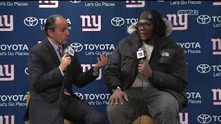 Jamon Brown: I Would Love To Be a Giant Long-Term | New York Giants Post Game