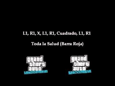 Trucos Para El Gta Liberty City Stories Psp Youtube