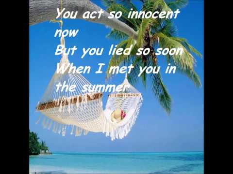 Calvin Harris - Summer (Lyrics)
