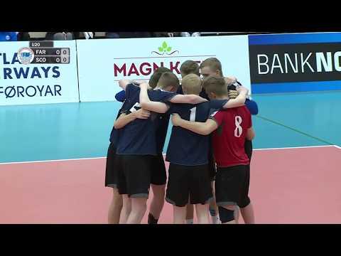 U20 EM flogbóltur menn: Føroyar - Skotland