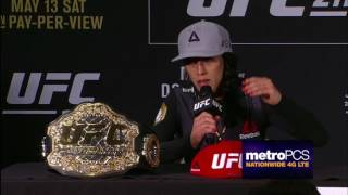 UFC 211: Post-fight Press Conference Highlights