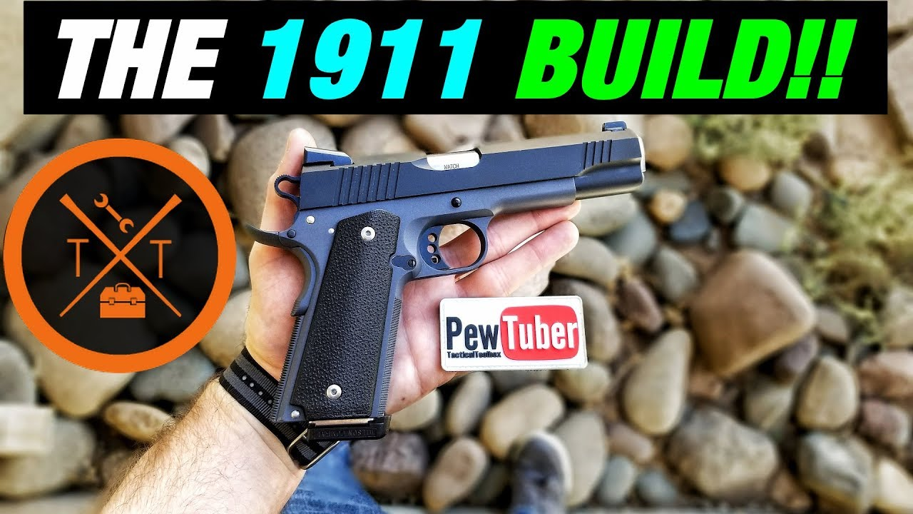 BACK FROM THE DEAD! 😍HOMEMADE Custom 1911 Pistol!!
