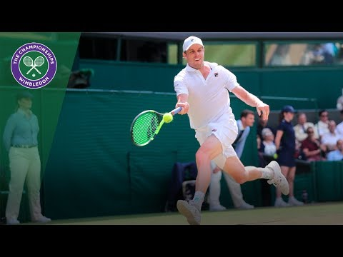 Andy Murray v Sam Querrey highlights - Wimbledon 2017 quarter-final