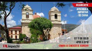 Importar de China Seminario Huancayo   Julio