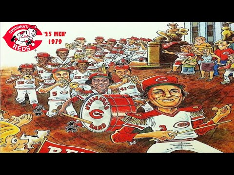 "Cincinnati Reds - 1979 Video Yearbook ""25 Men"""