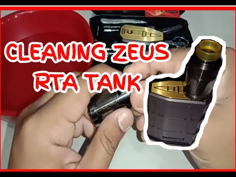 Cleaning ZEUS RTA tank vape - F.A.C