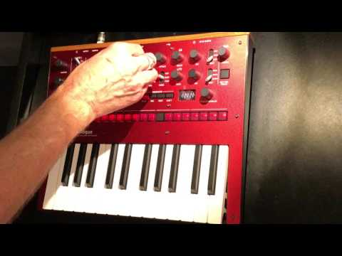 Korg monologue analog synthesizer: First listen