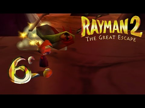 Rayman 2 Let's Play! Part 6: Anti gravity gel