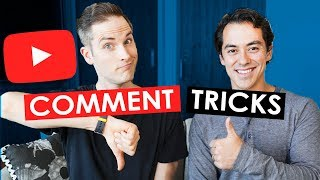 Video 5 YouTube Comment Tricks for Growing Your Channel download MP3, 3GP, MP4, WEBM, AVI, FLV September 2018