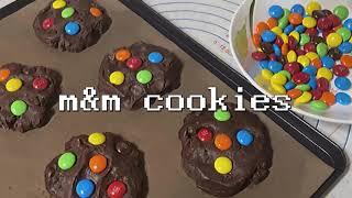 [홈베이킹] m&m 쿠키 만들기 (초보베이킹, …