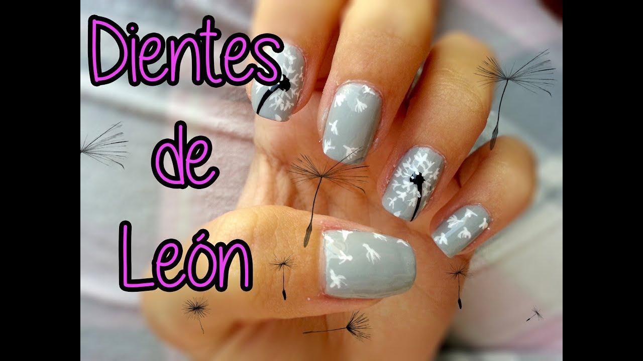 Nails Art Dientes De León Little Things Youtube