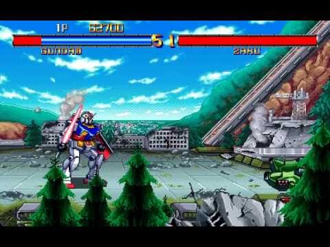 Arcade Longplay [598] Mobile Suit Gundam