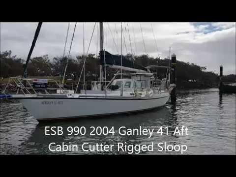 2004 Ganley Steel Aft Cabin Cutter Rigged Sloop - Ensign Ship Brokers (ESC 383)