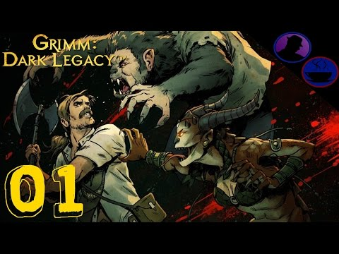 Let's Play Grimm Dark Legacy - Ep. 1 - Don't Poke The Bear!